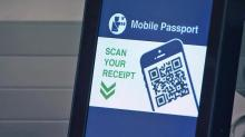 IMAGES: New app to replace customs card at RDU