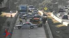 IMAGES: All lanes open after wreck closed Durham Freeway northbound