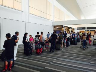A Southwest Airlines computer outage caused major delays at airports across the nation Wednesday afternoon, including the Raleigh-Durham International Airport.
