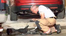IMAGES: Charging hoverboard sparks Clayton garage fire