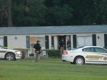 Moore County law enforcement officers responded on Thursday morning to a homicide at a home off Eagle Springs Road, the second such case in as many days, according to the Aberdeen Times. Photo courtesy of The Aberdeen Times