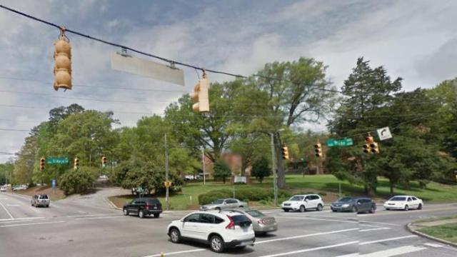 The former Rex Hospital location off Raleigh's Wade Avenue is up for sale.