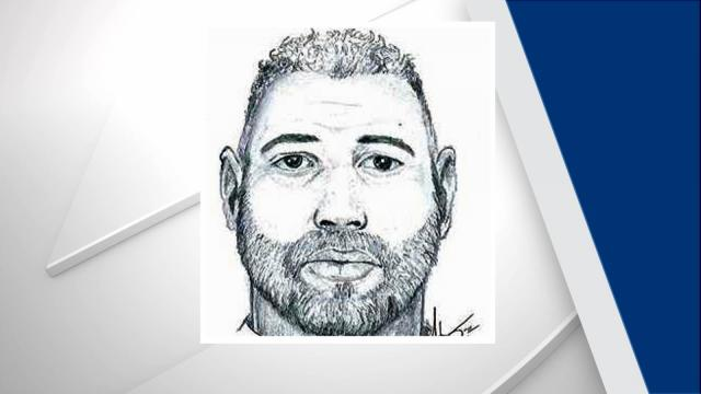 "The suspect was described as a light-skinned black man in his 50s. He is roughly 6 feet, 3 inches tall, weighs about 250 pounds and appeared to have ""distorted teeth,"" according to police. The man had short black-and-gray hair, was unshaven, and was wearing a red shirt with white writing, blue jeans and a tan flat-billed hat."