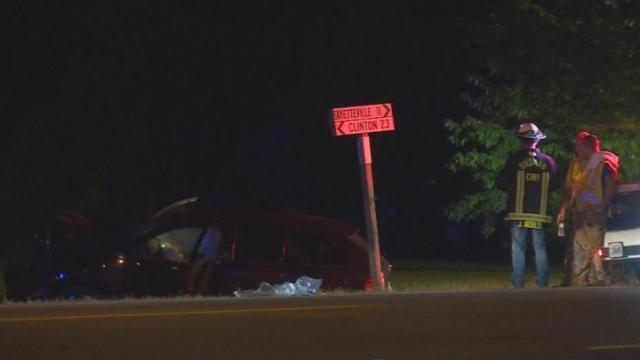 Passenger dies after car strikes tree in Stedman