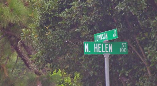 Police said that officers were conducting patrols near the intersection of Johnson Street and Helen Street when they observed a silver Nissan Versa and a blue sedan driving recklessly.