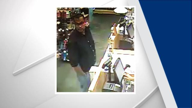 Town of Cary officials are asking the public to help them identity a man wanted in connection to an indecent exposure complaint at a card and gift shop on Kildaire Farm Road.