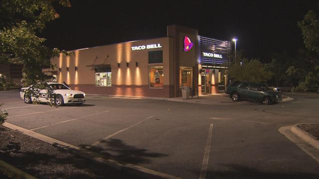 A man died early Thursday morning after being shot outside a Durham Taco Bell, police said.
