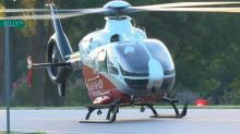 IMAGES: Johnston County wreck sends 2 to hospital