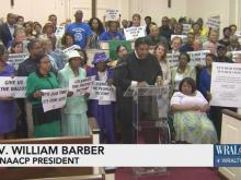 Rev. Barber asks supporters to enforce voter ID ruling