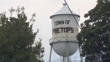 Pinetops water tower