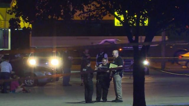 Two men were shot early Friday morning during an altercation in the parking lot of a Fayetteville auto parts store, police said.