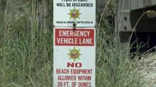 Emerald Isle beach access sign