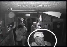 Fayetteville police on Saturday released surveillance photos of suspects wanted in connection with an early Friday shooting outside a bar on South Eastern Boulevard.