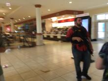 Raleigh police were working to secure Crabtree Valley Mall Saturday afternoon after gunshots were fired inside. (Photo courtesy Tony Rice)