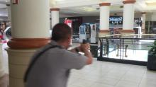 IMAGES: Shots fired? Search continues but mall will reopen