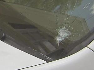 Investigators said it was a close call for nearly a dozen drivers in the areas of Strickland, Leesville and Ray Roads, in Raleigh, after rocks were thrown at their windshields Monday night.