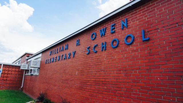 Cumberland County Schools officials are working to remove lead from an elementary school after an environmental study found the metal in areas accessible to students.