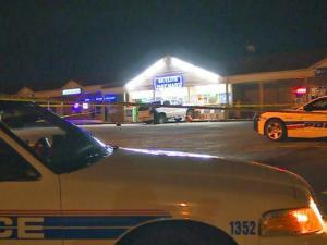 A driver crashed into a Fayetteville mini-mart during an attempted robbery Thursday night.