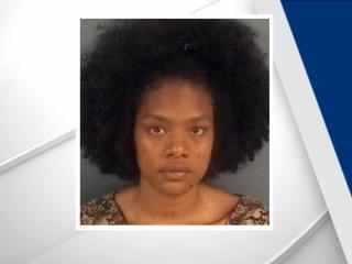 Authorities said that Regina Durr, 24, was caring for her nephew at a relative's home in the 800 block of Zadock Drive Saturday and attempted to drown and smother the child