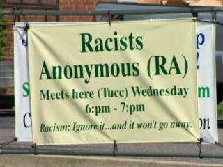 A North Carolina church has been holding weekly support group meetings for racists.