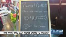 IMAGES: Raleigh nonprofit hopes 'pay what you want' pop-ups can help people get healthy meals