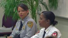 IMAGES: Durham police chief: 'It's important for women to be in nontraditional roles'