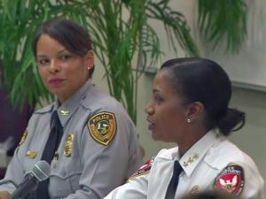 "Being a woman in a leadership role in a male-dominant field has its challenges and a North Carolina Central University forum called ""Women in Policing"" tackled that challenge Tuesday night."