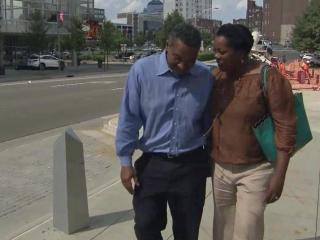 Darryl Howard and his wife were headed home after a judge overturned his conviction on double murder charges.