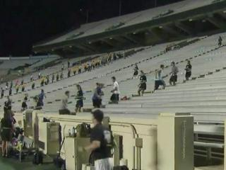 UNC students climb 2,076 steps for 9/11 victims, heroes