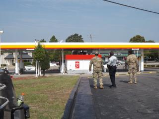 A suspicious package with threatening writing scrawled on the outside forced the evacuation of an Aberdeen convenience store but was later deemed to be fake, according to The Aberdeen Times. Billy Marts/Aberdeen Times