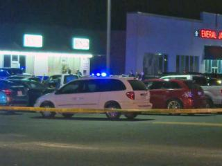 One person was injured Saturday night at a shooting at a bingo hall on Yadkin Road in Fayetteville, police said.