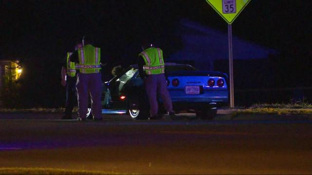 A pedestrian was in critical condition late Tuesday night after being struck by a vehicle in Fayetteville.