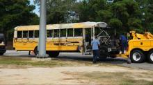 IMAGES: Saving students from bus fire part of job for Cumberland driver