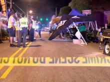 Driver injures 3 after plowing through Clayton festival barricade