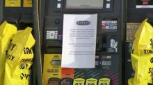 NC stations run out of gas