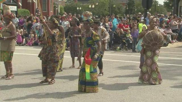 International Folk Festival takes over Fayetteville for 38th year