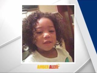 Authorities say N'eveah A'mirah Richardson was taken from her home at 731 Nashville Road by a bald African American man who was wearing a white T-shirt. The Amber Alert was issued at about 2 a.m.