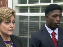 UNC football player, accuser appear in court in sex assault case