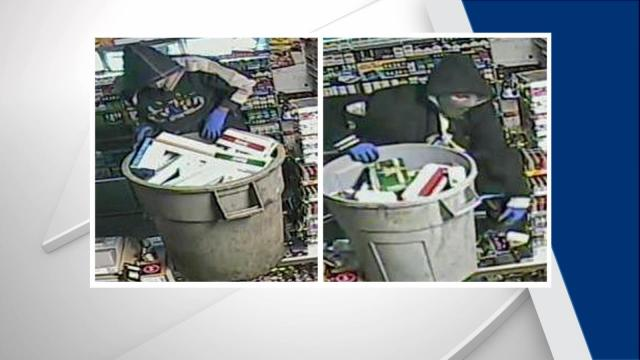 Authorities said the suspects burglarized the Jokers Smokers store at 6111 Capital Boulevard on May 24 and burglarized the Mr. Tobacco store at 1811 New Hope Church Road on July 1 and July 25.
