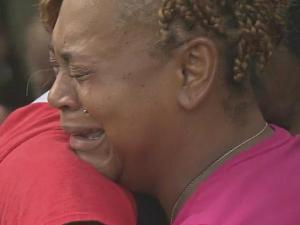 Two days ago, Tiffany Smith lost her daughter in a car crash. In front of friends and family who loved her, she embraced the teenager charged in the wreck.