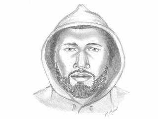 North Carolina State University campus police on Wednesday released a sketch of the man suspected of stabbing and robbing a student last week.