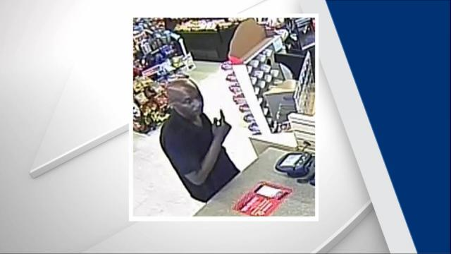 Authorities said the man cloned a bank card and used the victim's account to make several purchases in Fayetteville.
