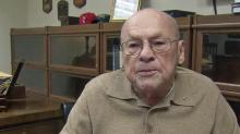 IMAGES: Good deed returns to vet with award of own WWII medals