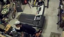 A homeowner in north Raleigh who caught a thief on camera stealing tools out of his garage said the incident can serve as a warning to other homeowners.