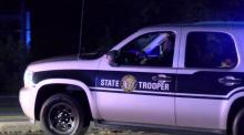 A high speed police chase on Friday night ended on N.C. Highway 54 when authorities crashed the fleeing vehicle.