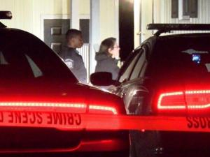 A man was shot inside a home near Goldsboro after a security alarm woke the homeowner.