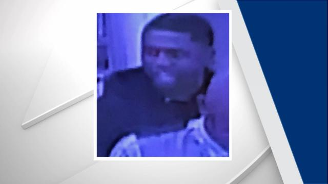 The Durham County Sheriff's Office is searching for a man in connection with a Monday afternoon armed robbery.