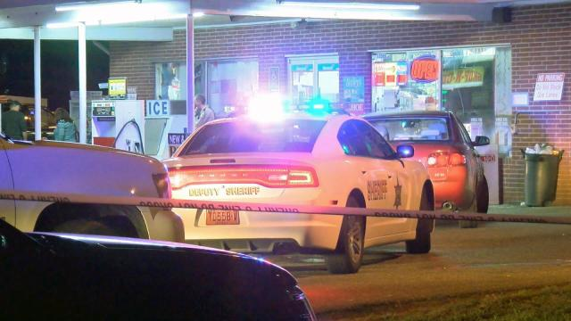 One clerk was killed and another was injured late Thursday night in a shooting at the Shop N Go convenience store on N.C. Highway 39 in Johnston County, according to the sheriff's office.