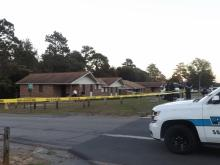 Two children were injured in a drive-by shooting in Southern Pines. Photos contributed by the Aberdeen Times.