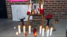 IMAGES: Vigil held to remember, pray for children shot in Southern Pines drive-by